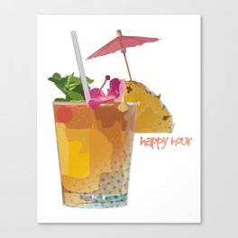 Happy Hour Canvas Print
