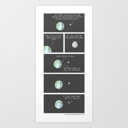 Relationships Art Print