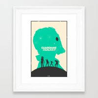 guardians of the galaxy Framed Art Prints featuring Guardians of the Galaxy by FelixT