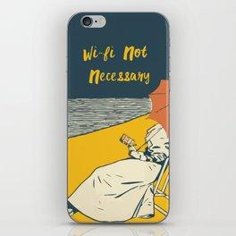 No Wi Fi Necessary iPhone Skin
