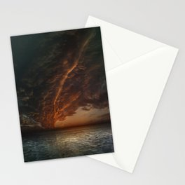 The Mediterranean Sunset Stationery Cards