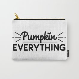 Pumpkin Everything Carry-All Pouch