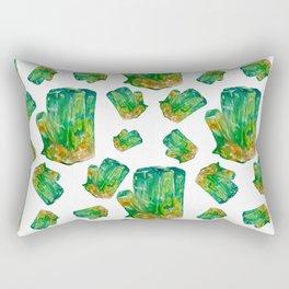Emerald Birthstone Rectangular Pillow
