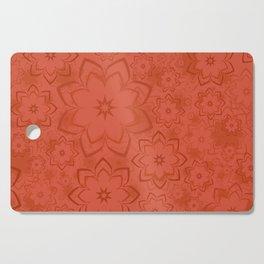 Flowers Pattern 8 Cutting Board