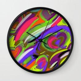 Happy Heart Wall Clock