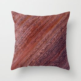 Natural Sandstone Art, Valley of Fire - III Throw Pillow