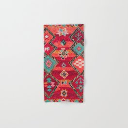 18 - Traditional Colored Epic Anthique Bohemian Moroccan Artwork Hand & Bath Towel