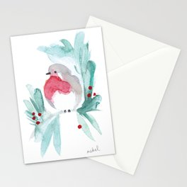 Red Robin 1 Stationery Cards