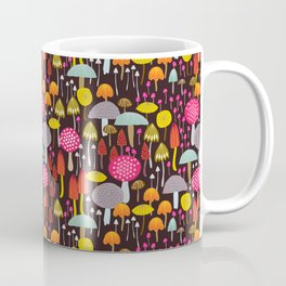 dark toadstools and mushrooms Coffee Mug