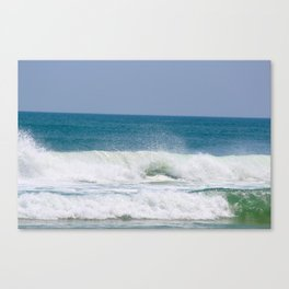 Shaping the Shoreline Canvas Print