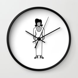 Aretha Franklin Wall Clock