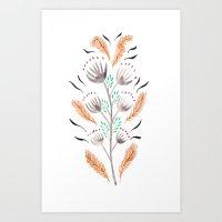 Autumn Plant life Art Print