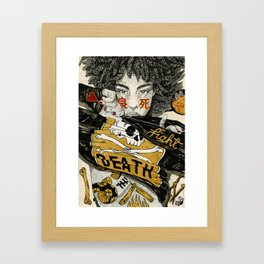 Good Death Framed Art Print
