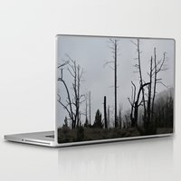 death Laptop & iPad Skins featuring Death by Hunter J.