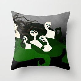 Hel the Goddess of Death Throw Pillow