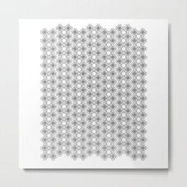 line puzzle rail Metal Print