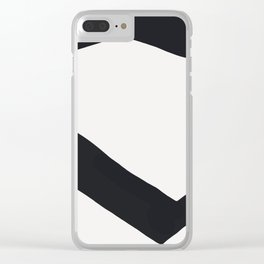 Plates Clear iPhone Case