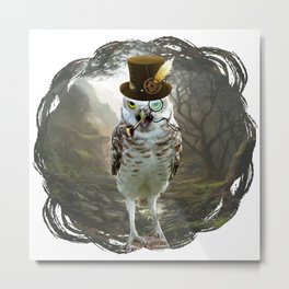 Lord Of The Owls - II Metal Print