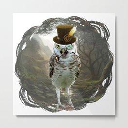 Lord Of The Owls - II Metal Print