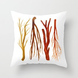 sticks no. 6 Throw Pillow