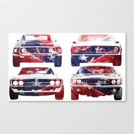 America Muscle Canvas Print