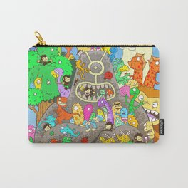 It's a small world full of assorted critters Carry-All Pouch