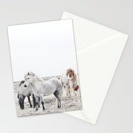 WILD AND FREE  1 - HORSES OF ICELAND Stationery Cards