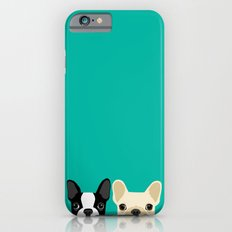 Boston Terrier & French Bulldog 2 Slim Case iPhone 6