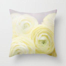Cream II Throw Pillow