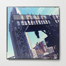 gantry 02 Metal Print