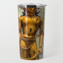Golden Figurine Travel Mug