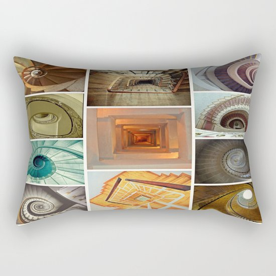 stairs stairs stairs collage Rectangular Pillow
