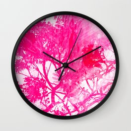 I'm up here, in the tree <3 Wall Clock