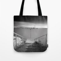 dublin Tote Bags featuring Dublin City (RR82) by RR Photo | Landscape Photography