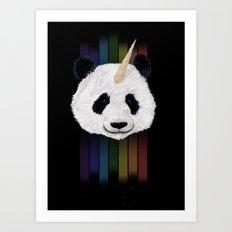 Pandacorn Art Print