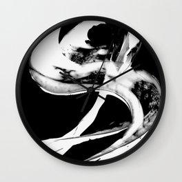 Black Magic 307 Inverted by Sharon Cummings Wall Clock
