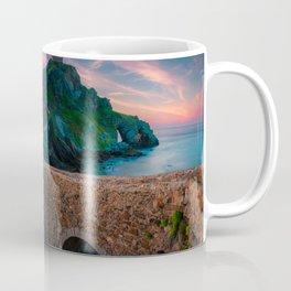 san juan de gaztelugatxe Sunset, in Euskadi, north of Spain Coffee Mug