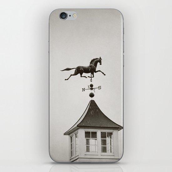 Horse Weathervane iPhone & iPod Skin