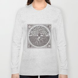 Tree of Life as above so below Long Sleeve T-shirt