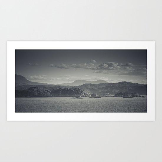 Droman view Art Print