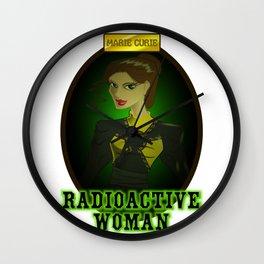 radioactive woman Wall Clock