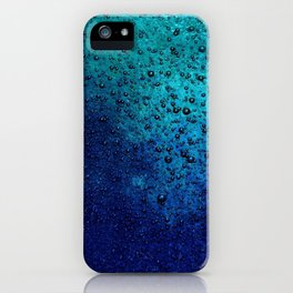 Sea Green Blue Texture iPhone Case