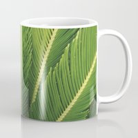 palm tree Mugs featuring palm tree by Life Through the Lens