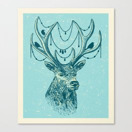 Deer Spirit Canvas Print