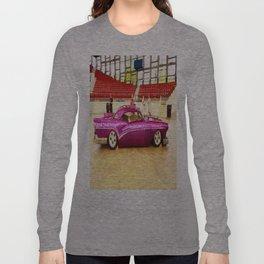 Sleek and Classy Vintage Car Long Sleeve T-shirt