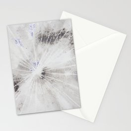 String Art Greys with Silver Leaf Stationery Cards