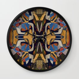 between the lions Wall Clock