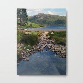 Loch Ba Metal Print