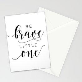 PRINTABLE Art,Be Brave Little One,Nursery Decor,Nursery Wall Art,Kids Gift,Kids Room Decor Stationery Cards