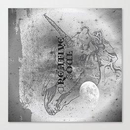 Unicorn: Untamed Soul Canvas Print
